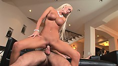 Lichelle rides that dick with the passion of a woman with wild desires to fulfill